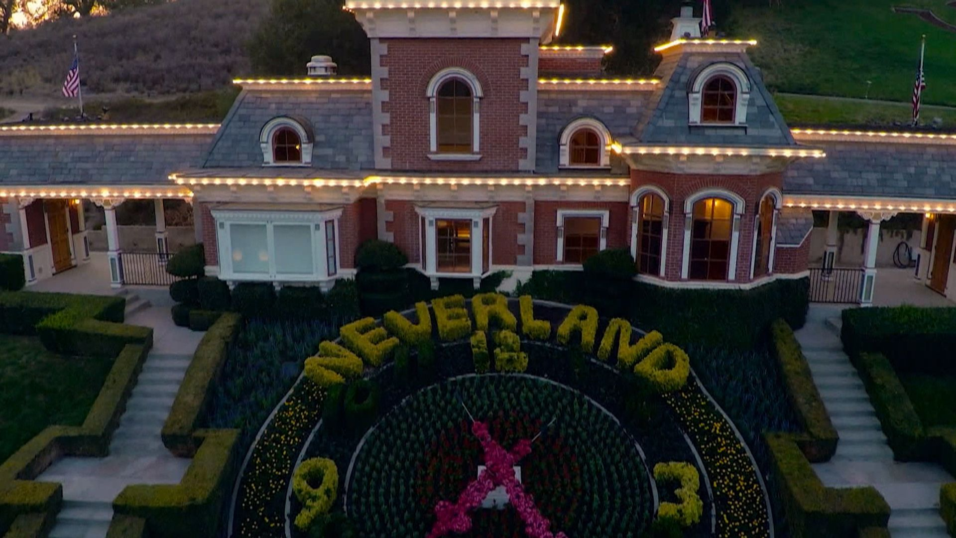 Michael Jackson's Neverland ranch backup for sale