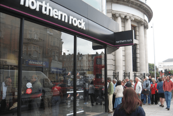 Northern Rock collapse