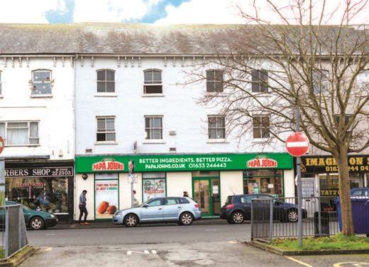 Lot 101 – Papa John's, Newport