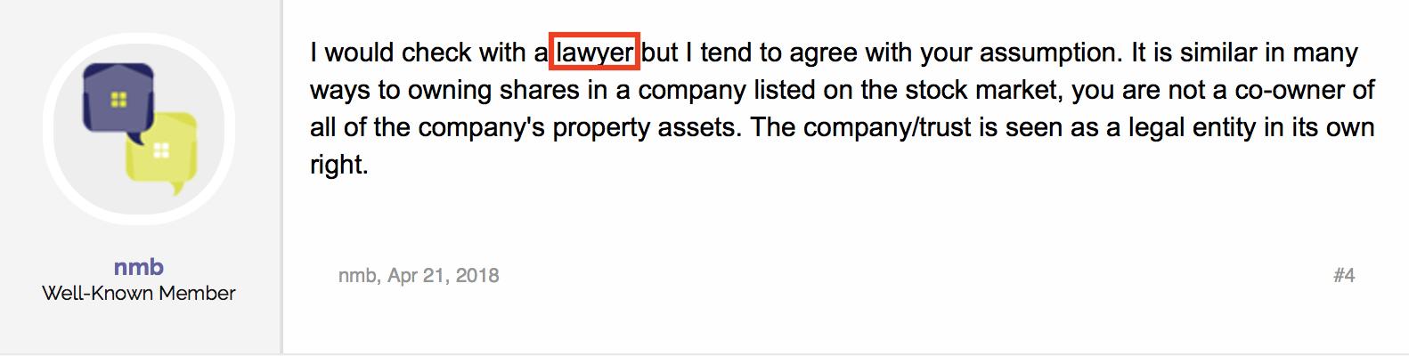 Lawyer keyword example 1