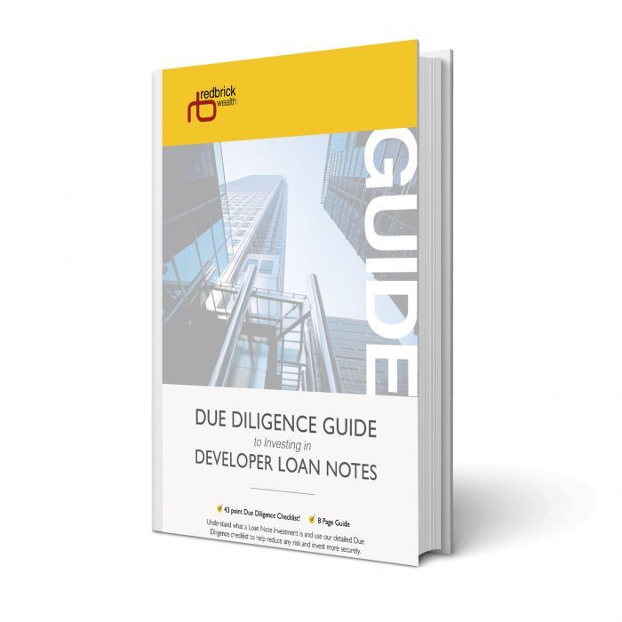 Free due diligence guide to investing in developer loan notes