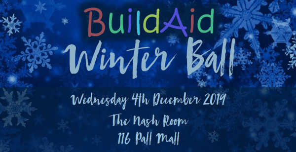 Support the BuildAid Winter Ball 2019