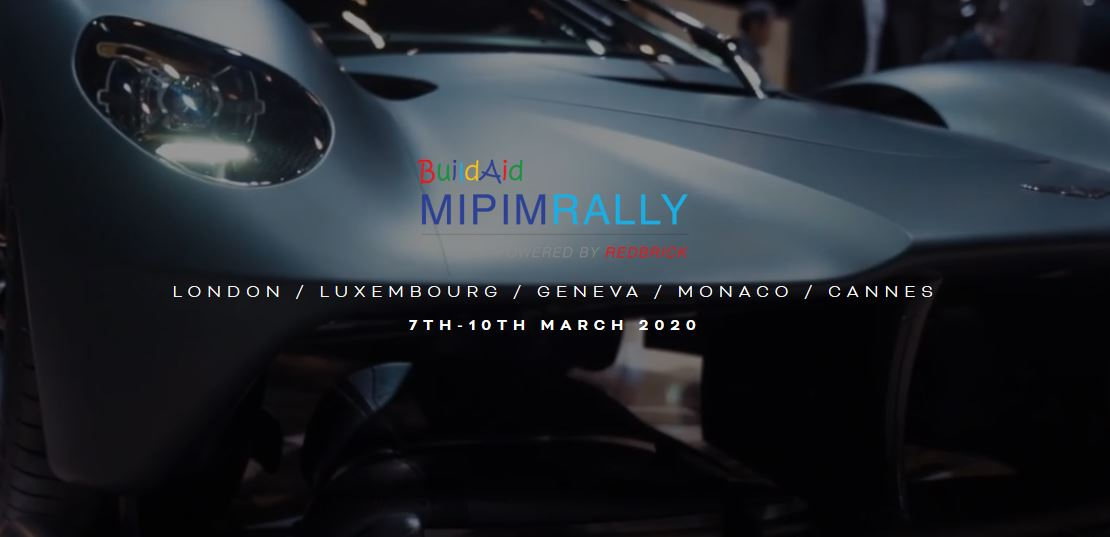 BuildAid MIPIM Rally: 7th-10th March 2020
