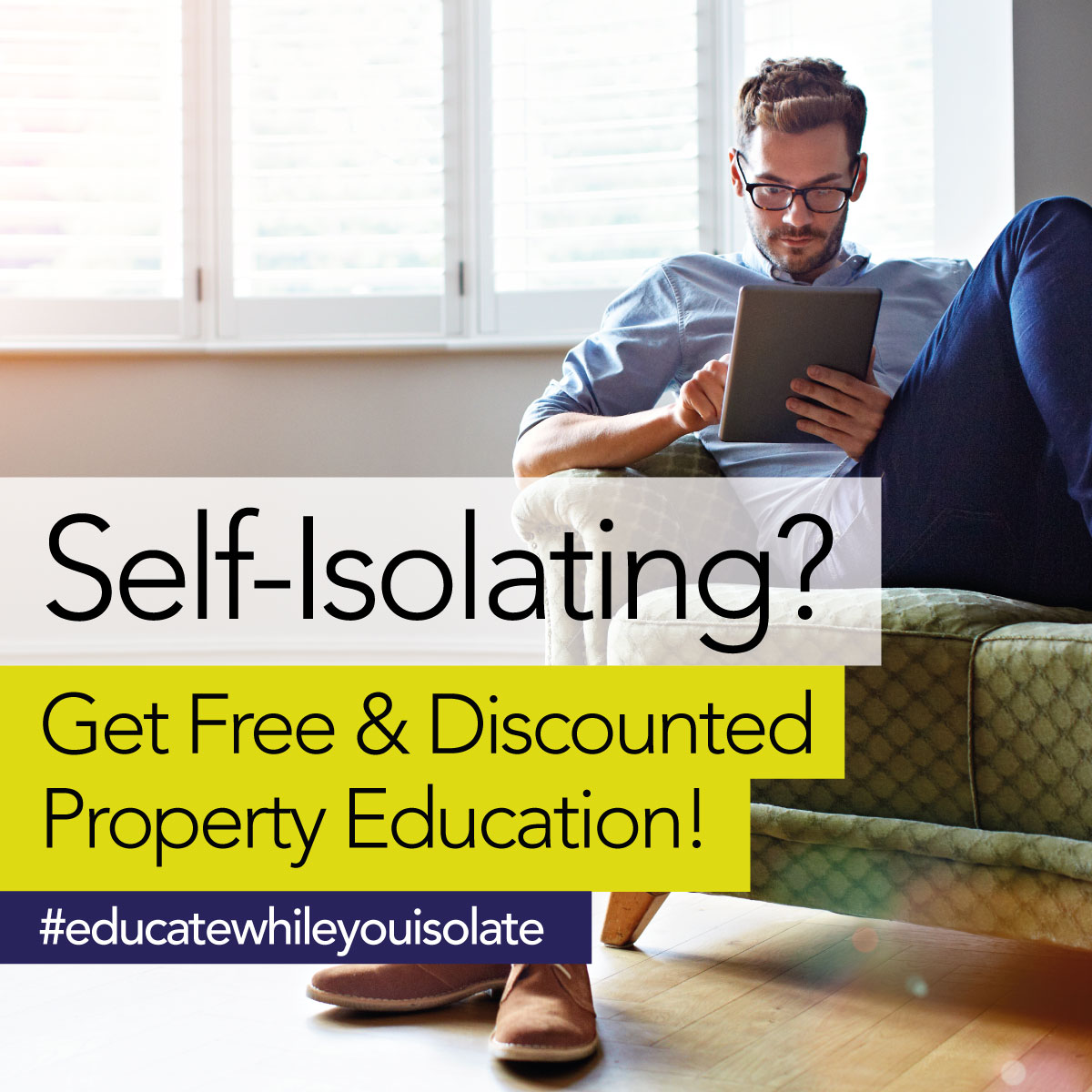 Property education while you self-isolate