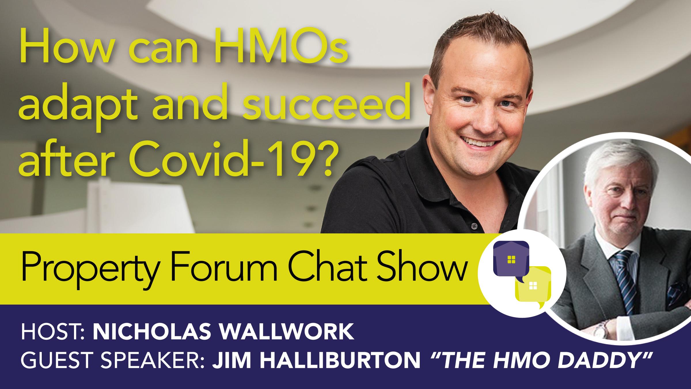 Jim Haliburton appears on chat show
