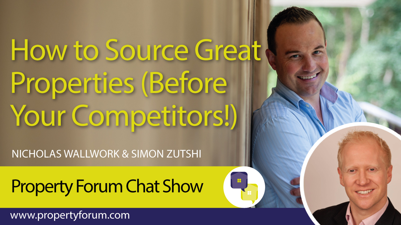 Simon Zutshi appears on chat show